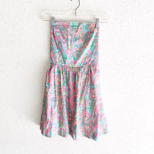 Lilly Pulitzer Chandie Strapless Dress